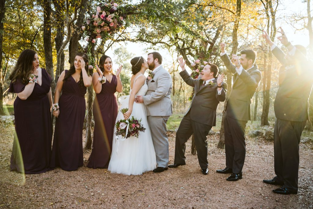 celebrating the wedding ceremony temple texas
