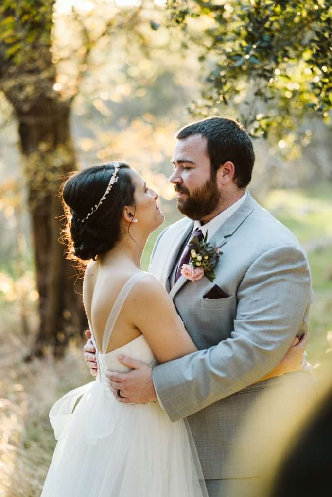 the couple in the woods temple texas wedding venue