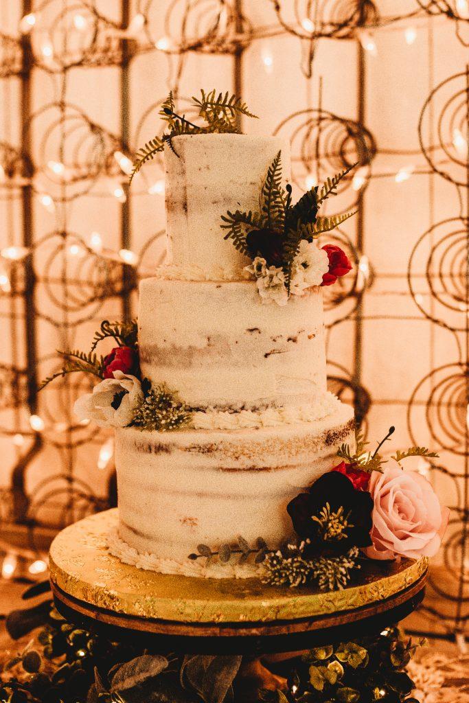 Fall Wedding Cake Temple Texas