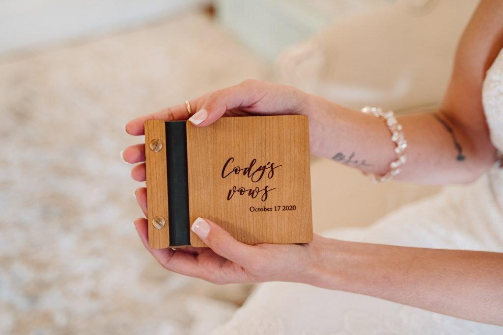 Wedding Venue Vow Book