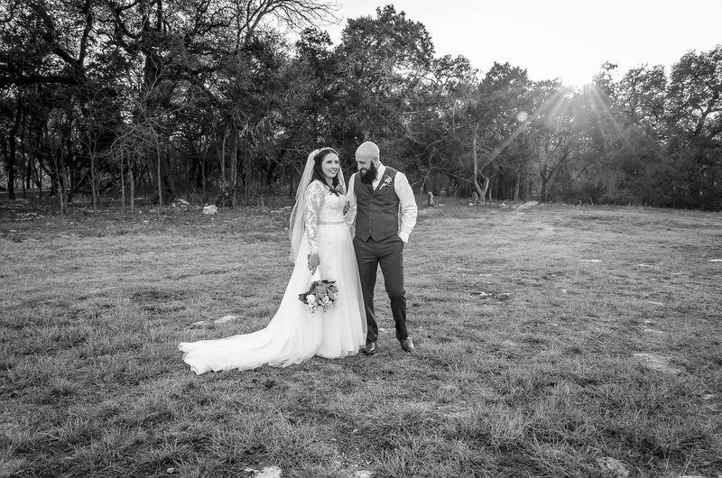 winter wedding in texas