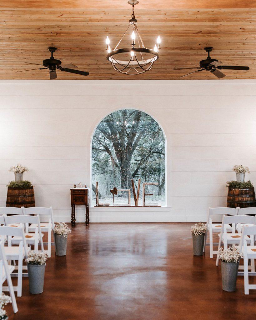 Chapel wedding belton area wedding venue