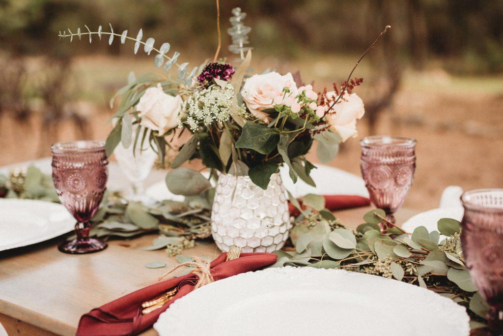 Fall floral arrangement Temple Texas