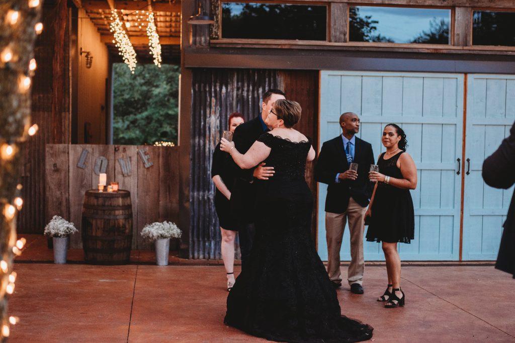 wedding first dance outdoors temple texas