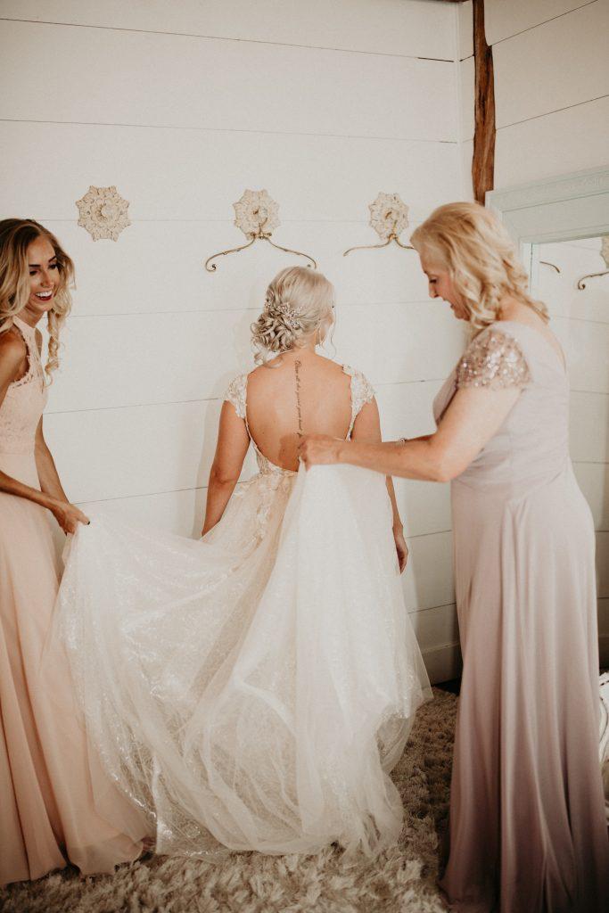 Texas Small Wedding in the fall