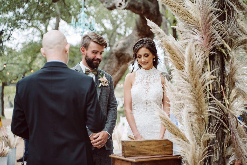 Bride and Groom Unity Ceremony