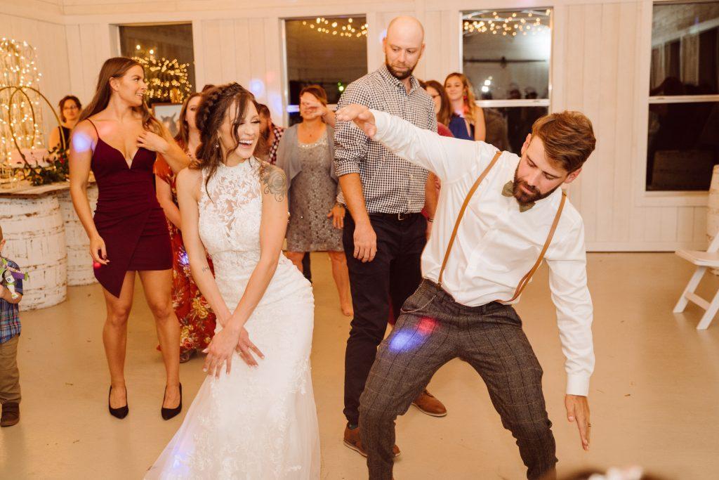 Wedding Dancing Temple Texas